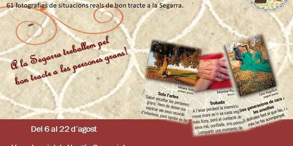 """Exposició """"Segarra, imatges amb tracte"""" al Local Social de Vergós Guerrejat"""