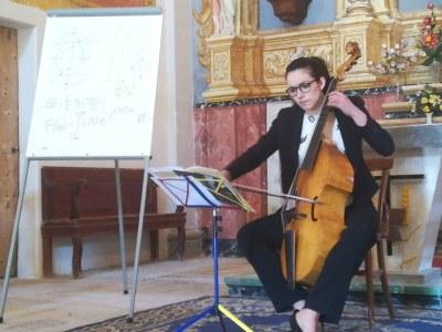 Concert- conferència i tast d'Isabel Esain en el marc del Festival Espurnes Barroques a Vergós Guerrejat.