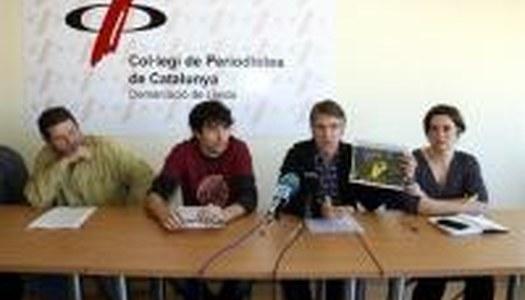 El divendres 19 de gener, a les 12 h del migdia, al col•legi de periodistes de Lleida es va celebrar una roda de premsa per presentar les accions dutes a terme i a realitzar contra el projecte d'una macro pedrera al municipi Estaràs.