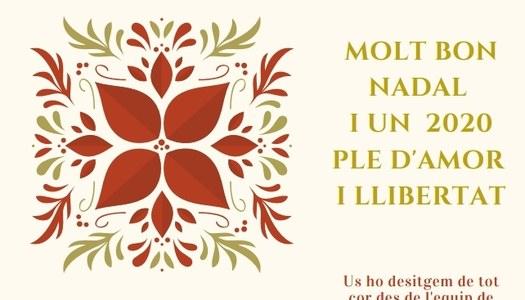 L'equip de govern de l'Ajuntament d'Estaràs us desitja bones festes!