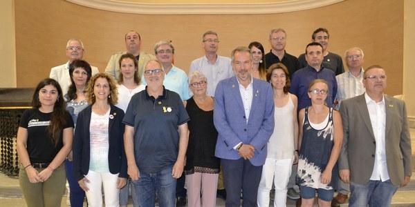 Nous Consellers del Consell Comarcal de la Segarra sorgits de les eleccions de la primavera de 2019